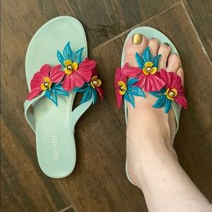 Nine West Jelly Sandals